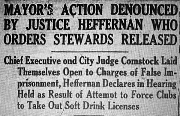 Our Old Times: Mayor Gideon Green and the Soft Drink War of 1933