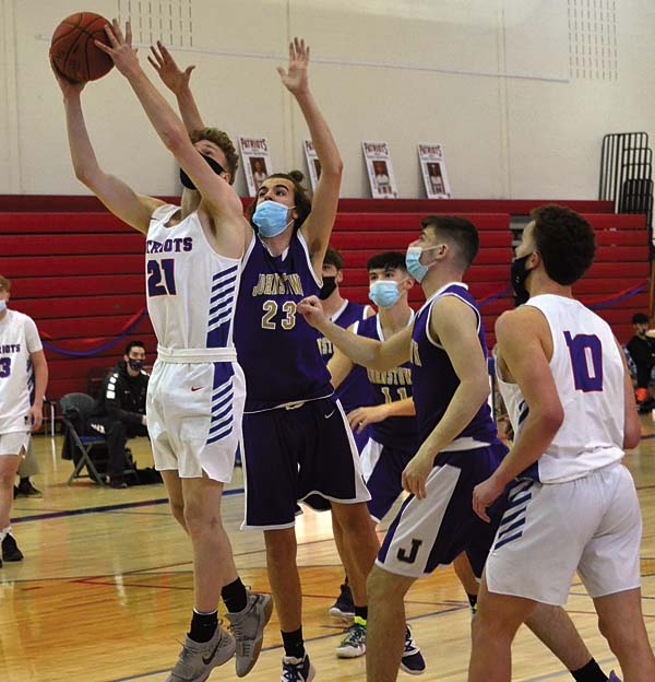 Patriots beat Johnstown to finish with 9-0 record
