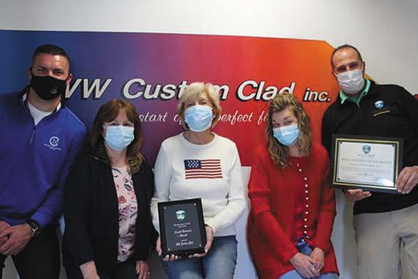 WW Custom Clad named Small Business of the Month