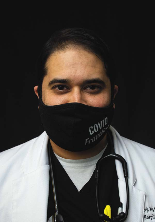NLH physician's work with COVID draws attention