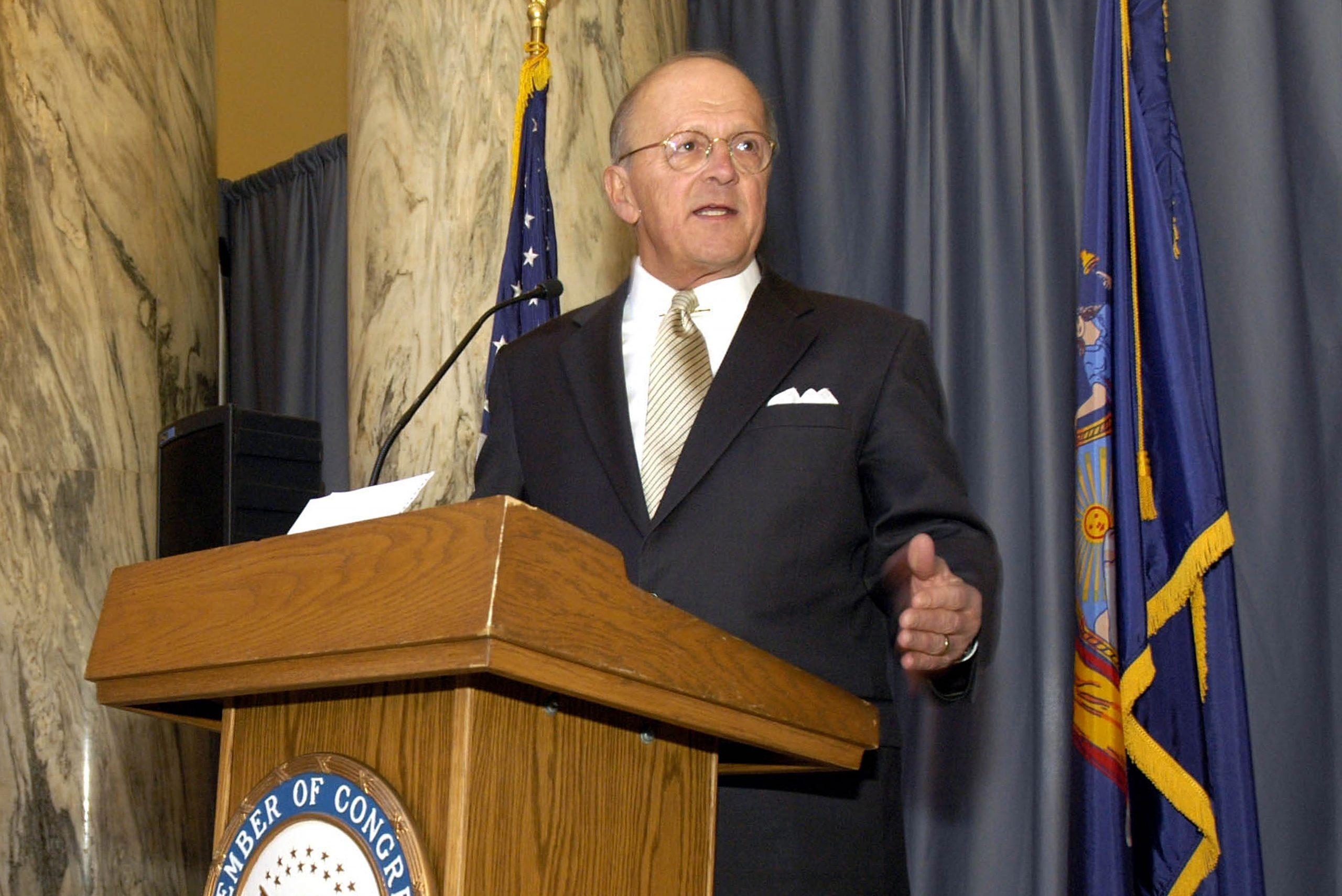 Former U.S. Rep. Boehlert dies